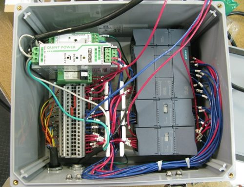 PLC Controller and Relays