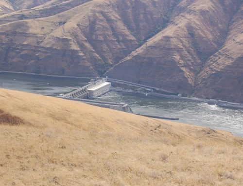The Lower Granite River Dam